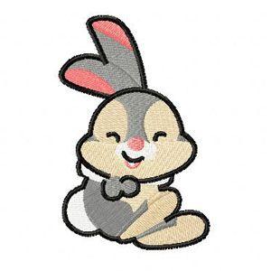 Rabbit mini embroidery design