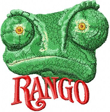 Rango embroidery design 2